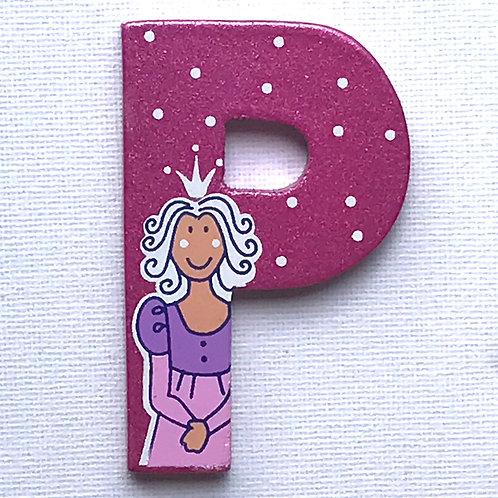 Letter P (Princess)