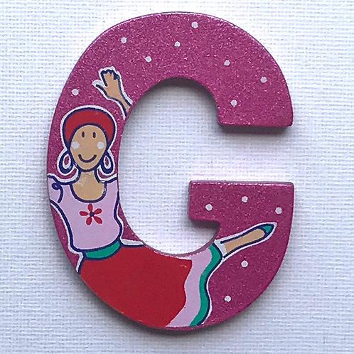 Letter G (Gypsy)