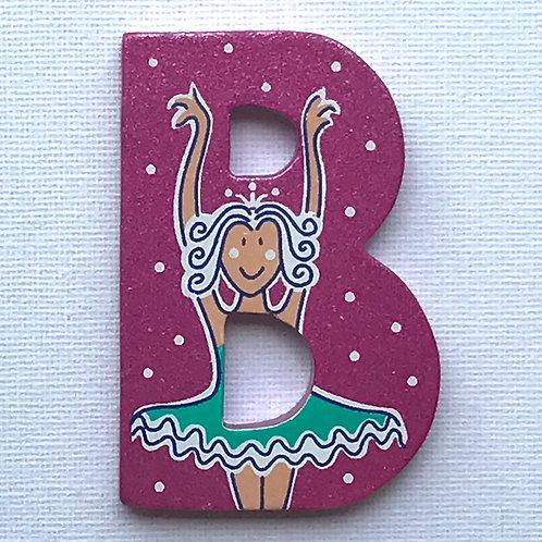 Letter B (Ballerina)