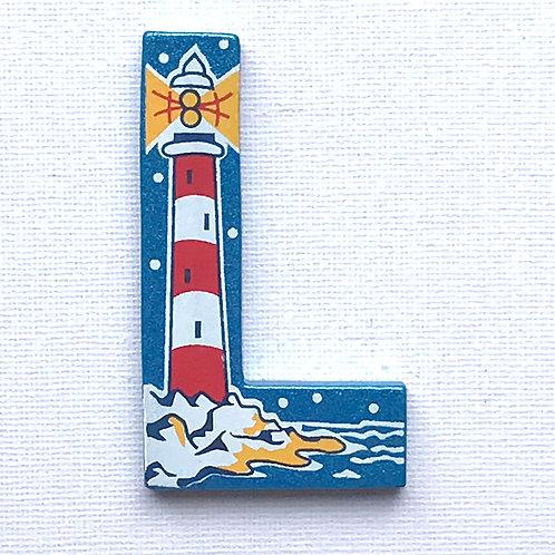 Letter L (Lighthouse)