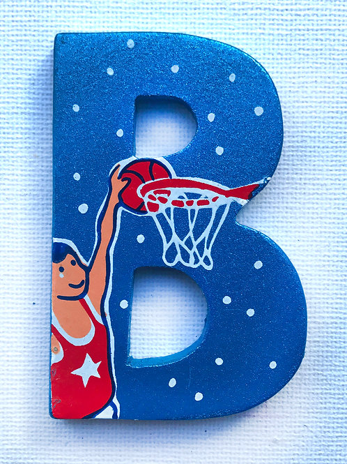 Letter B (Basketball)