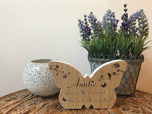 'Auntie' Keepsake