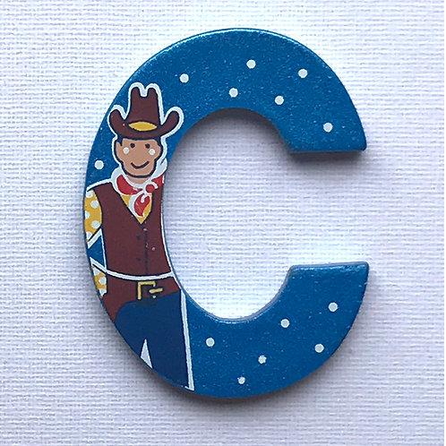 Letter C (Cowboy)