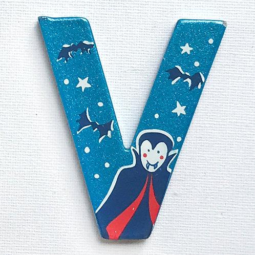 Letter V (Vampire)