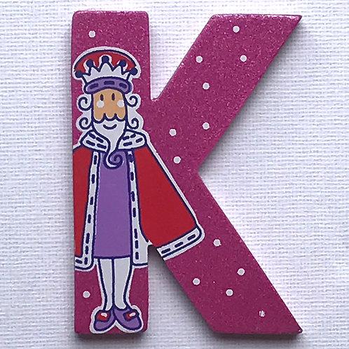 Letter K (King)