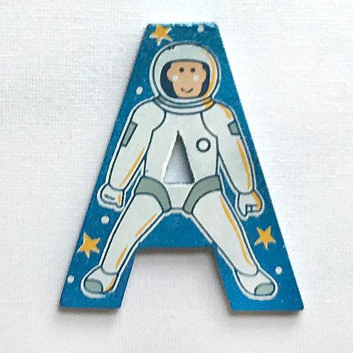 Letter A (Astronaut)
