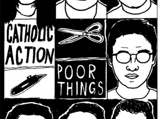 A Most Spiritual Journey  Catholic Action / Poor Things Split EP Out Now on Fuzz Kill Records