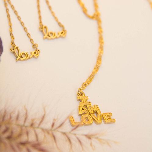 Affirmation Neck Love