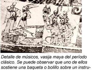 ¿Tenían marimbas los mayas del período clásico?