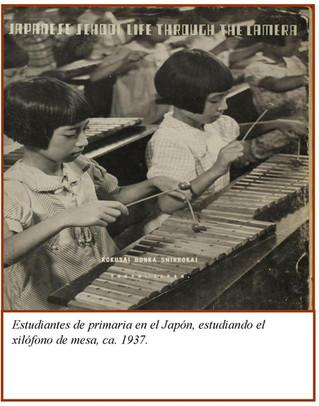 Sobre cómo Japón se convirtió en un exponente mundial de la marimba, al introducirla en su currículu