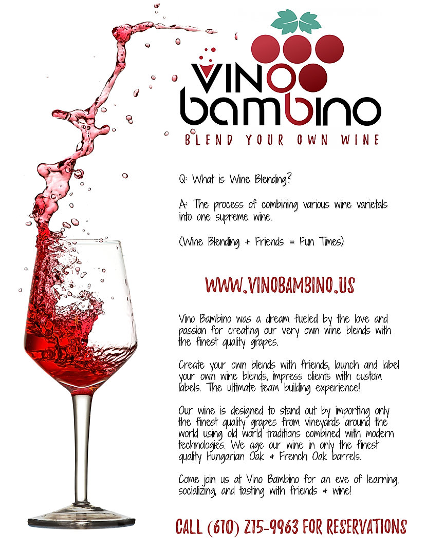 Vino Bambino - Wine Blending