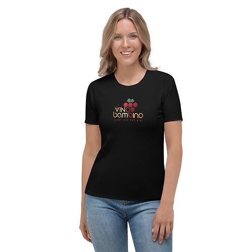Vino Bambino Women's T-Shirt - Black