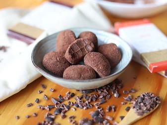 Trufa de chocolate amazônico