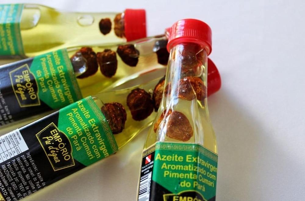 azeite com pimenta