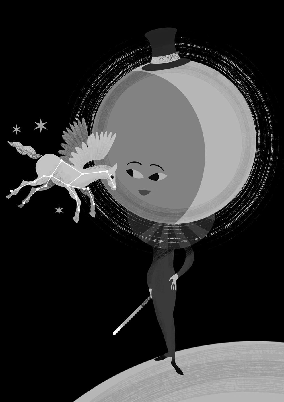 Moon & Pegasus