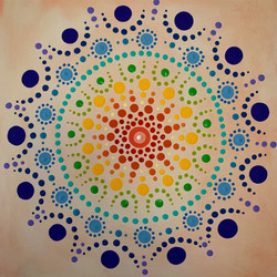 Corinna Nicole, Dot Paintings
