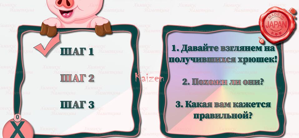 Свинья стандартов - Kaizen (4)