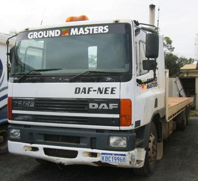 Ground Masters DAF Tilt Tray - TK8