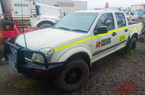 Ground Masters light vehicle Holden Rodeo utility