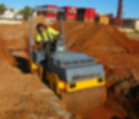 Ground Masters Bomag roller