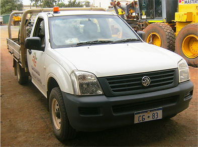 Ground Masters light vehicle Holden Rodeo