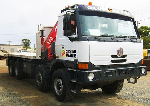 Ground Masters' Tatra 8x8 Crane Truck - TK11