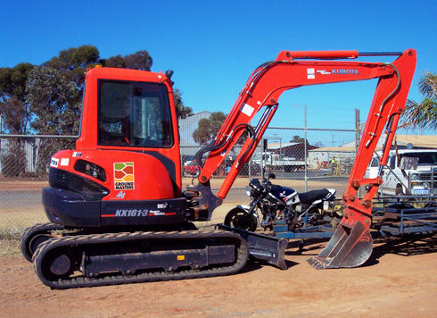 Ground Masters Kubota 5 Tonne Excavator - EX1