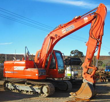 Ground Masters Doosan 14 Tonne Excavator - EX2