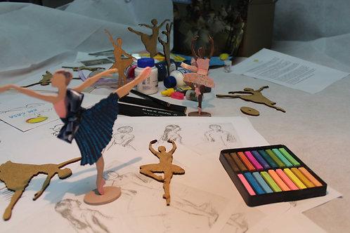 Kit Degas Bailarinas para grupos de idosos