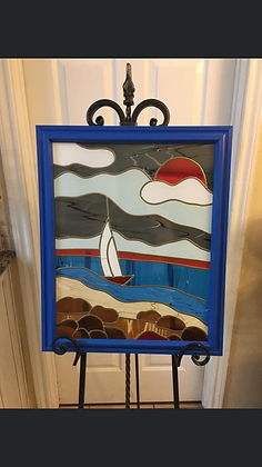 Custom Stained Glass - (1ft-2ft x1ft-2ft)