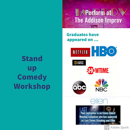Comedy - Stand up Workshop Study