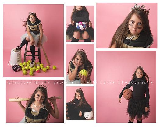 Chelle Photography - Pitcher Princess