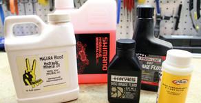 Les types huile de freins