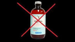 L'huile minérale