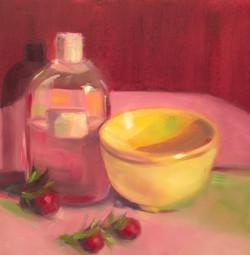 Bath Oil and Herbs