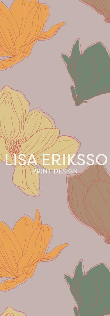 Magnolia Print Repeat