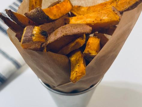 "Baked Sweet Potato ""Fries"""