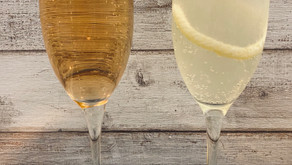 Sparkling Cocktails (Kir Royale and French 75)