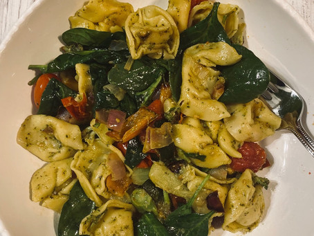 Roasted Veggie Tortellini