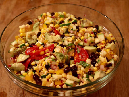 Summer Corn and Vegetable Salad