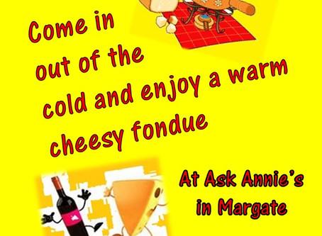 Still cold enough for cheezy fonduessssss.....