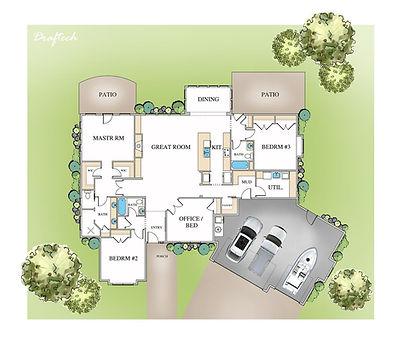 Hampton Floor Plan Layout