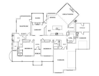 Silver Sage Floor Plan Layout