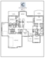 The Hampton 2 Story Main Floor Plan