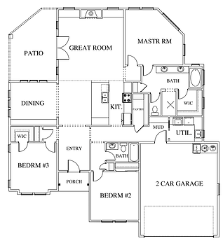 The Creek Point Floor Plan Layout