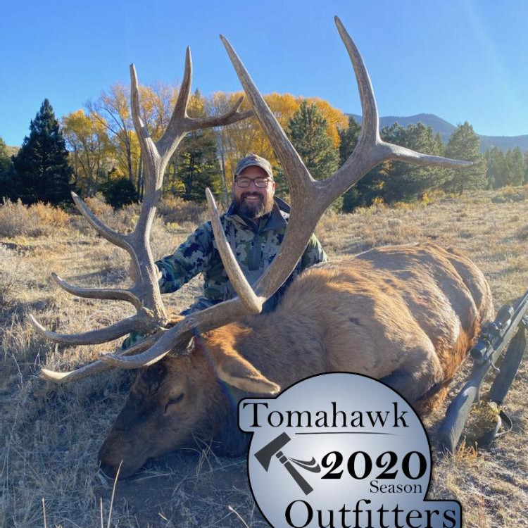 Trophy Bull Elk Hunt for one Hunter with Tomahawk Outfitters In Northern New Mexico