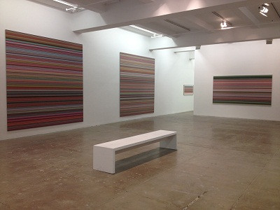 Gerhard Richter at the Marian Goodman Gallery London