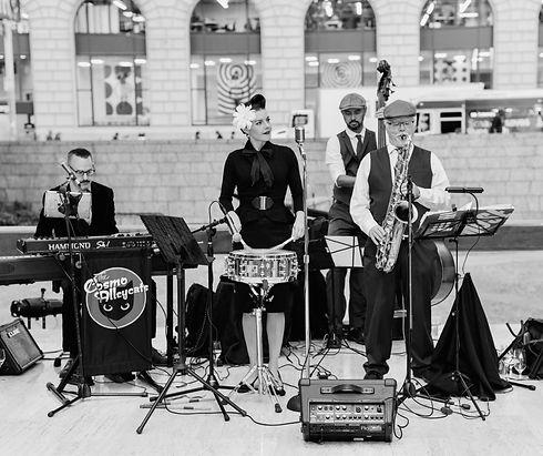Cosmo Alleycats Private Event Quartet 1