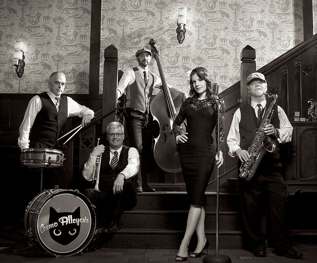 Cosmo Alleycats Vintage Dance Band