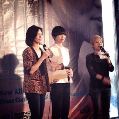 Media Conference with Lingkai and Stephanie Sun